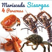 Mariscada Sisargas - 4 personas