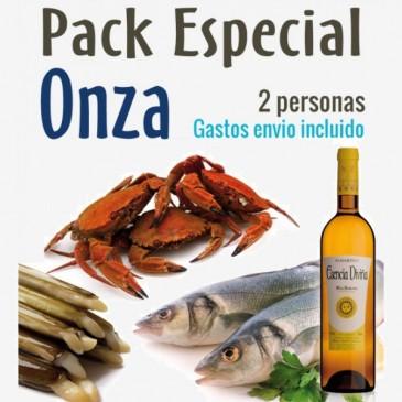 Pack mariscada Especial Onza